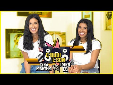 Youtube: C'Quoi L'Son: Lyna Mahyem VS Imen ES sur du Aya Nakamura, Camélia Jordana, Ronisia,Wallen,Assia