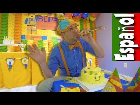Blippi Español Aprende en el Patio Cubierto de Juegos | Videos Educativos para Niños Pequeños