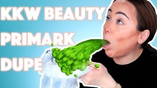 KKW BEAUTY CONTOUR SET PRIMARK DUPE 🤮 | First Impression | Hatice Schmidt