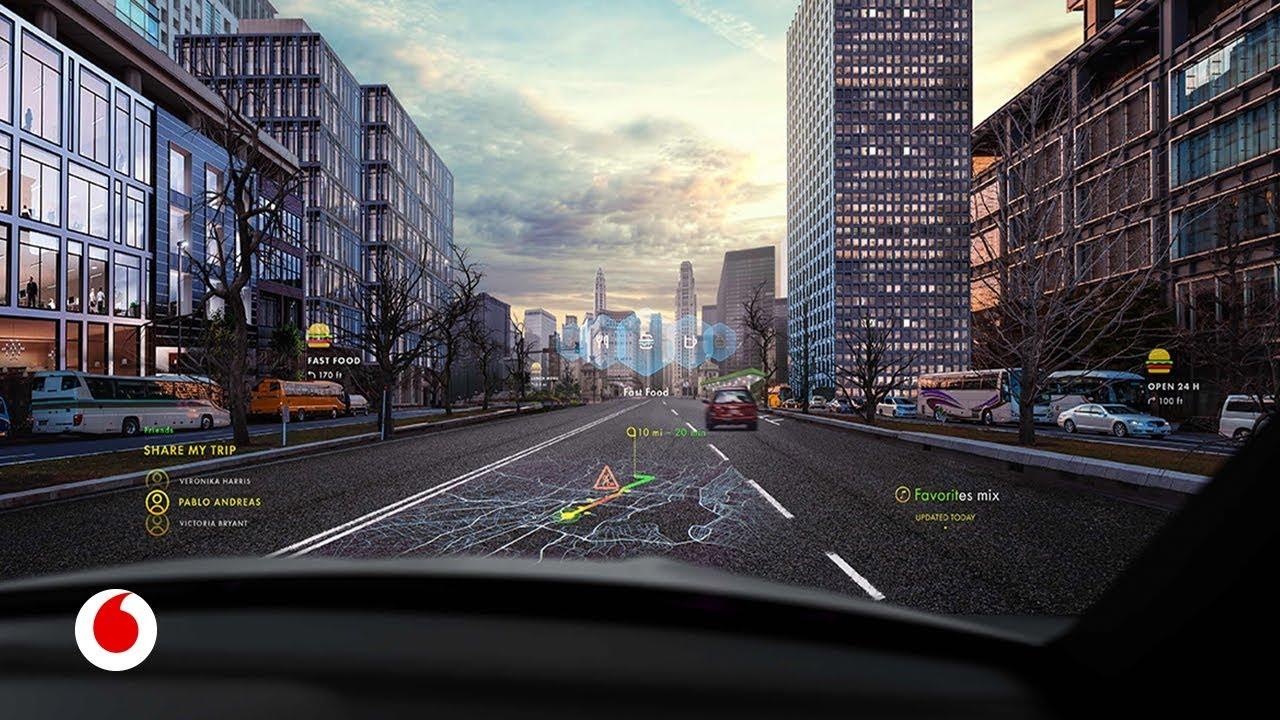 Parabrisas de realidad aumentada para hacer los coches más seguros