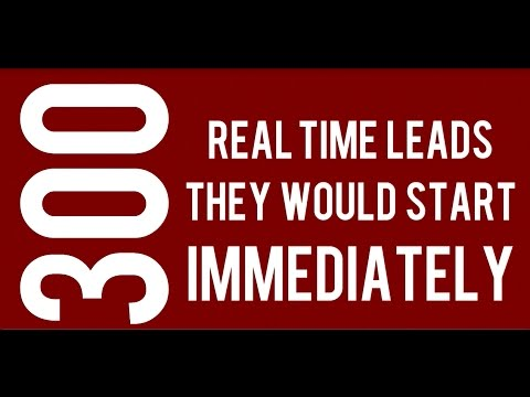 Real time mlm leads  Real Time Network Marketing Leads