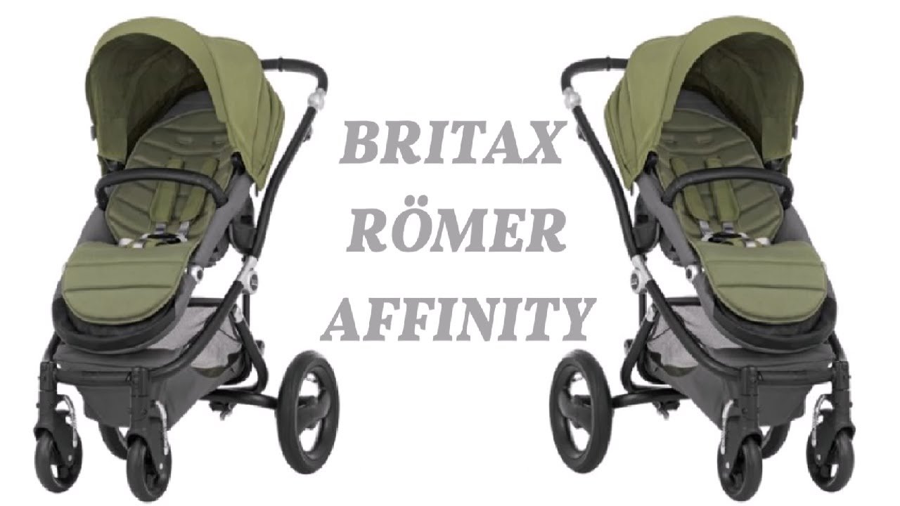 unser kinderwagen britax r mer affinity review youtube. Black Bedroom Furniture Sets. Home Design Ideas