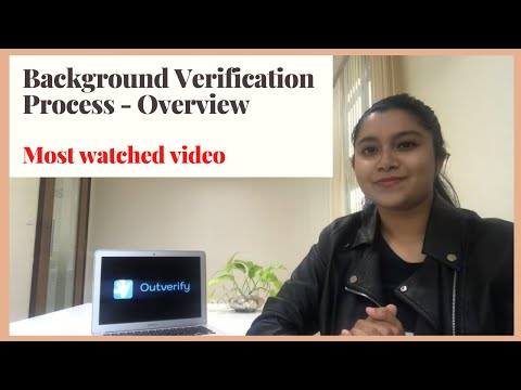 What Is The Process Of Company To Perform Background Verification!