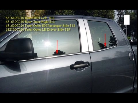 How To Replace Toyota Tundra Double Cab Front Rear Door