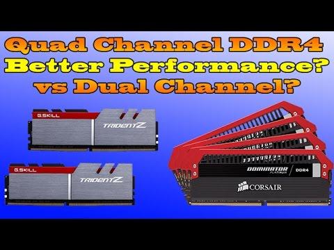 Single vs dual channel benchmark - Dual vs Single Channel