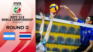 ARG vs. THA - Full Match   Eightfinals