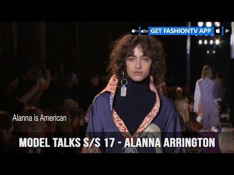 Model Talks Fall/Winter 2017-18 Alanna Arrington   FashionTV