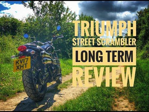 2017 Triumph Street Scrambler Long Term Review