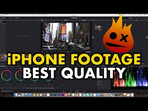 How I Color Grade iPhone Video Footage with Davinci Resolve - Tutorial