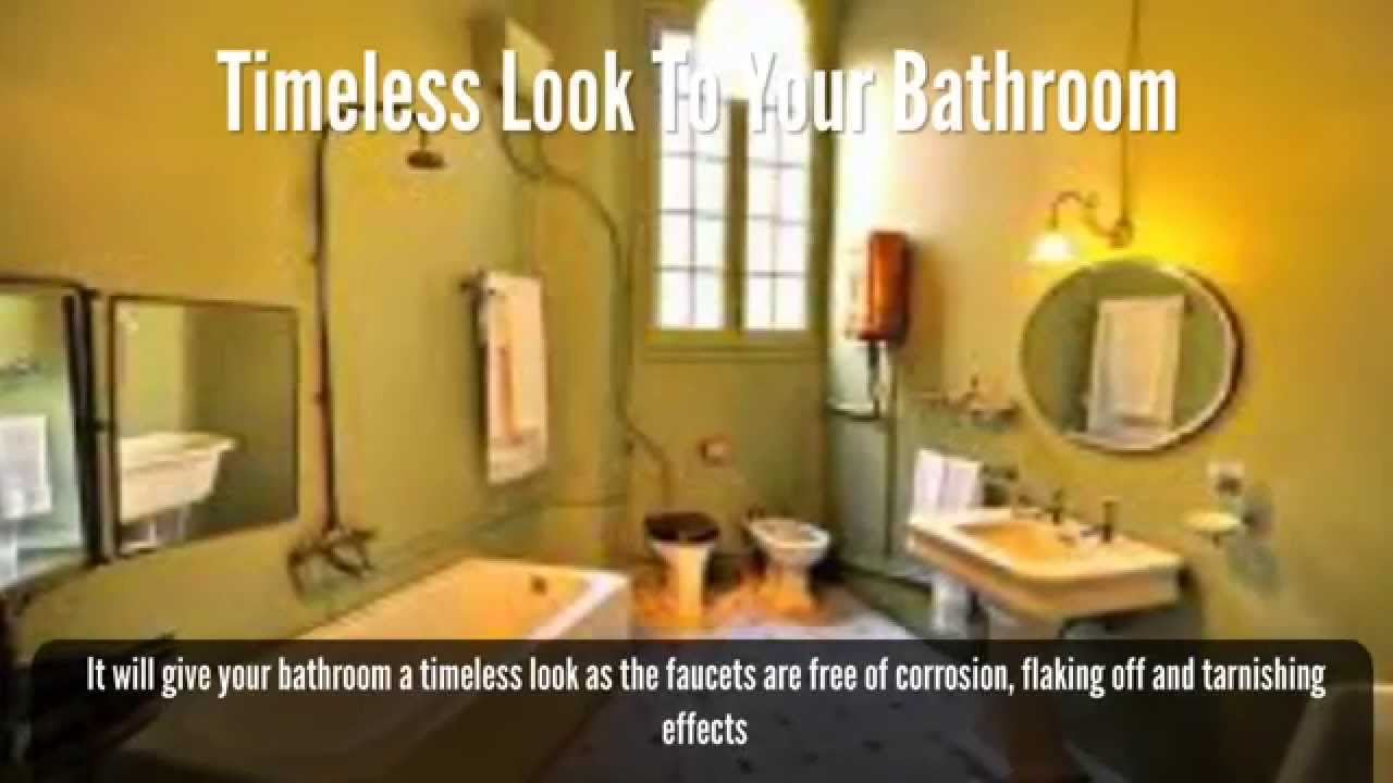 moen 6610bn brantford bathroom faucet video review youtube