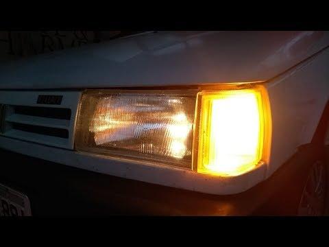 Fiat Uno Mille 1994: Troca De Farol, Piscas Dianteiros E Revisão No Chicote