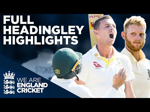 Full Test Highlights! | England v Australia - Headingley Tes