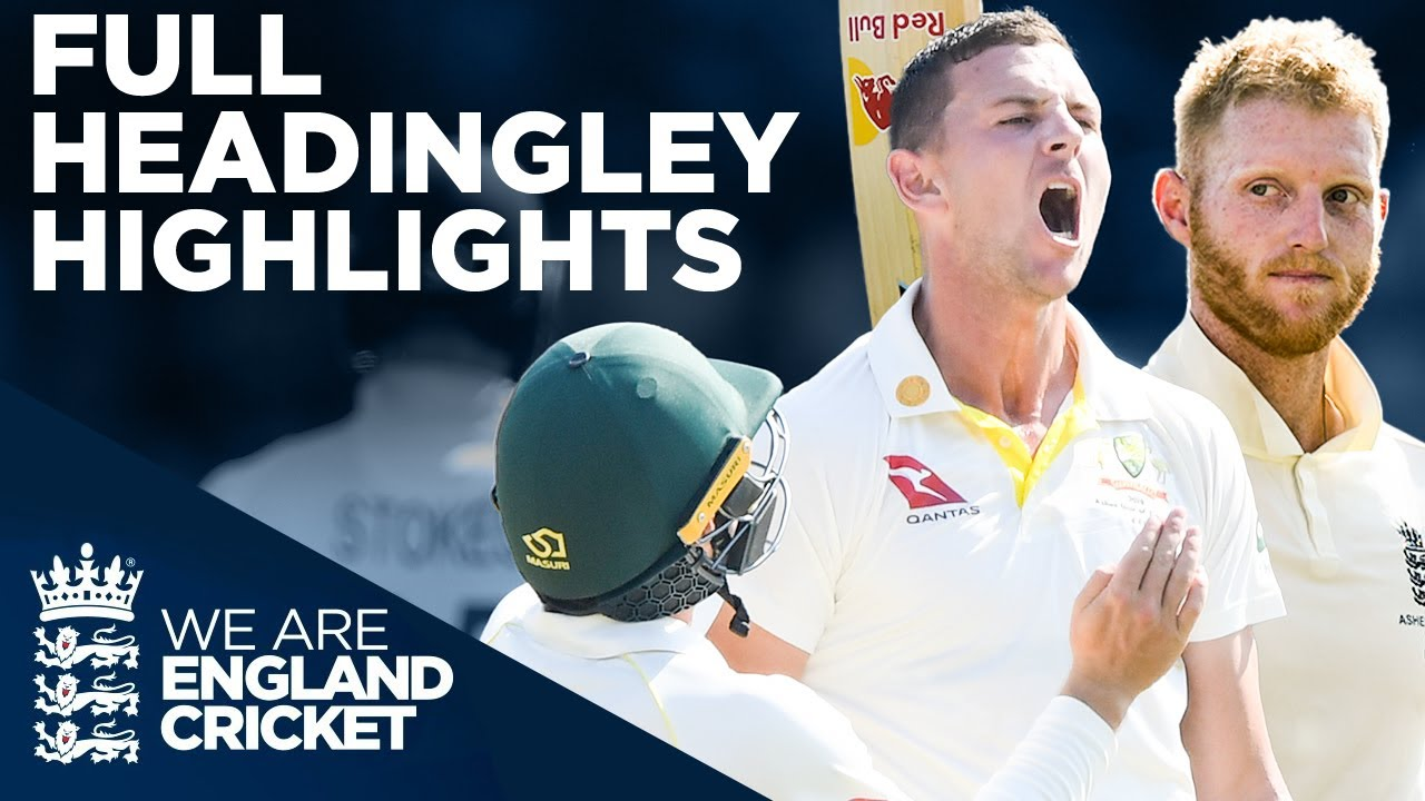 Download Full Test Highlights!   England v Australia - Headingley Test   Third Specsavers Ashes Test 2019