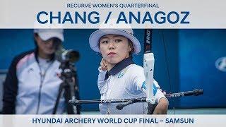 Chang Hye Jin v Yasemin Anagoz – recurve women's quarterfinal | Samsun 2018