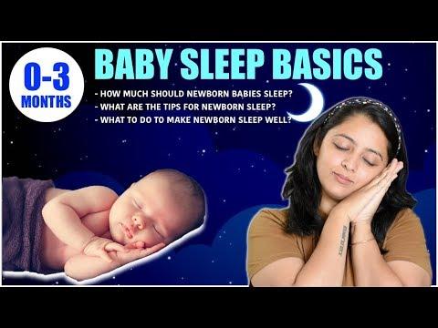 BABY DOES NOT SLEEP WELL? || Baby Sleep Basics (0-3 MONTHS)