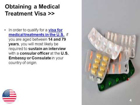 Visa for Medical Treatments in the U.S.