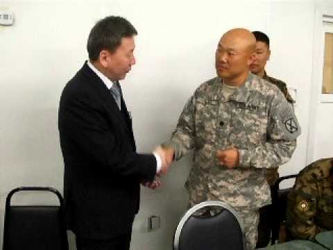Defense minister Mongolia.avi