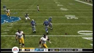 Madden 10   Steelers Lions Part 1