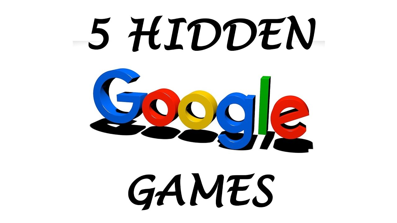 5 Hidden Google Games You Can Play Youtube