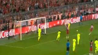 Бавария 1:2 Барселона - Должен был быть 4-й гол(Волшебная троица