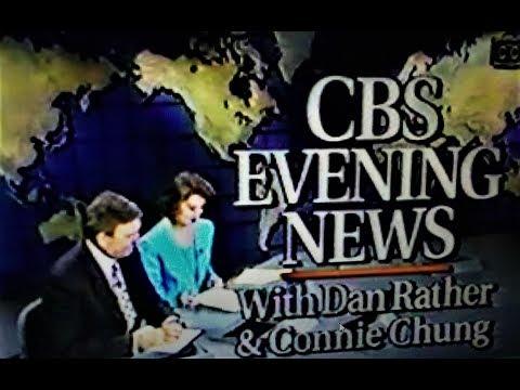 CBS EVENING NEWS -June 2, 1993-Dan Rather, Connie Chung