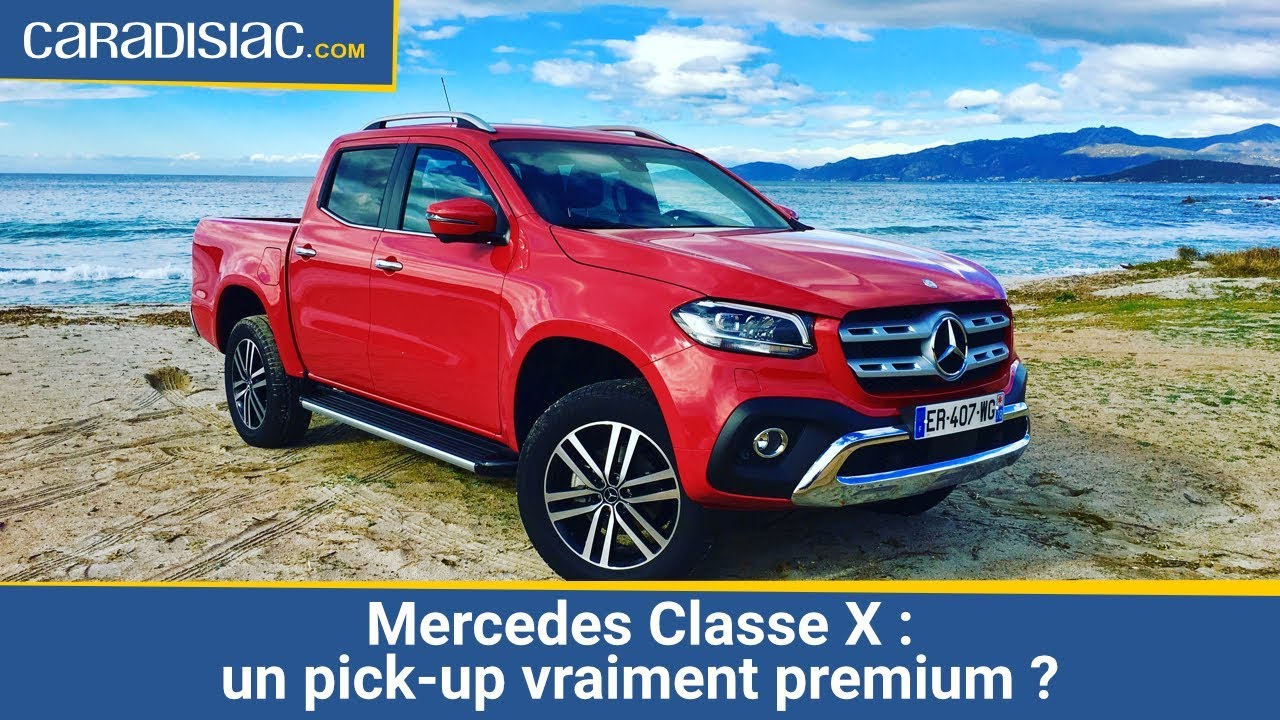 mercedes classe x 2017 un pick up premium vraiment youtube. Black Bedroom Furniture Sets. Home Design Ideas