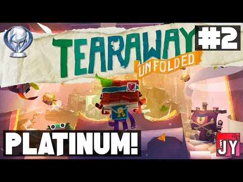 [100%] Chapter 2 - Wassail Orchard! ~ Road to Platinum! [PS4] Tearaway Unfolded
