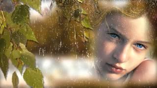 Футаж - Дождь, осень, грусть, слёзы, девушка...  ProShow Producer.
