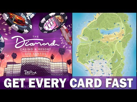 The FASTEST Way To Get ALL Hidden Playing Cards In GTA 5 Online Casino DLC