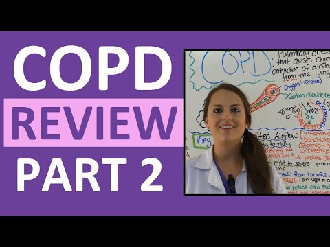 COPD (Chronic Obstructive Pulmonary Disease) Nursing Interventions  Management Treatment NCLEX Part 2
