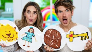 PANCAKE ART CHALLENGE!!! Escape the Night Edition w/Joey Graceffa! #ETN4