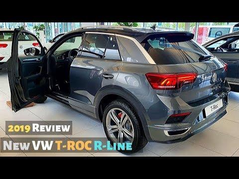 New VW T-ROC R-Line 2019 Review Interior Exterior