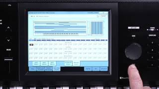 The New Korg Kronos: Video Manual Part 1- Intro and Navigation