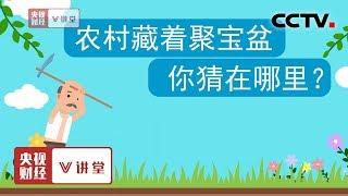 《央视财经V讲堂》 20190924 农村藏着聚宝盆 你猜在哪里?| CCTV财经
