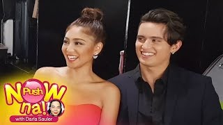 Push Now Na Exclusive: Chikahan With James Reid and Nadine Lustre part 1
