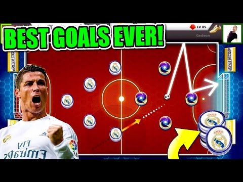 BEST RONALDO GOALS EVER!! Tricks and Skills For Real Madrid   Mini Soccer stars
