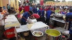 Lavish Indian Wedding: Epic Food Stalls serving Yummy Street Food & Restaurant Quality Foods, India.
