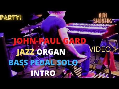 The John-paul Gard Organ Trio,  playing at the Spring Arts Center, Havant,