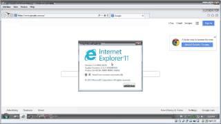Check Internet Explorer browser version