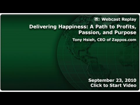 MI Forum: Delivering Happiness: A Path to Profits, Passion, and Purpose