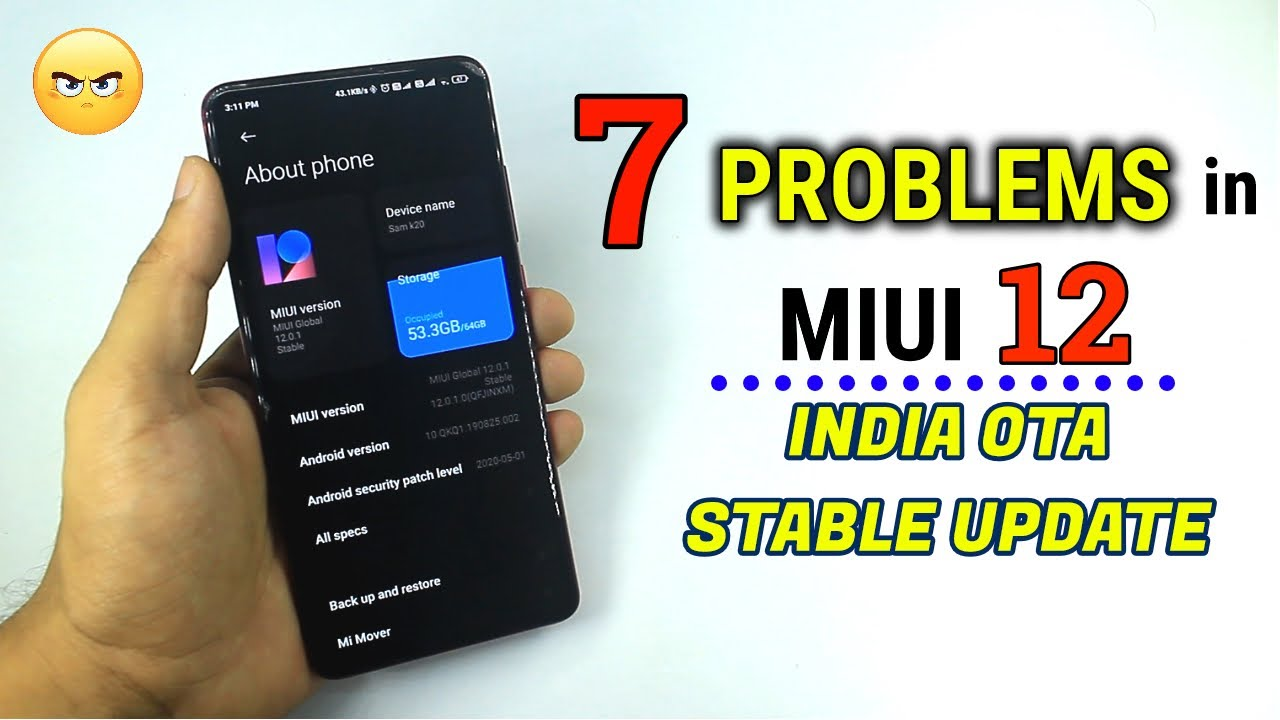 7 BIGGEST Problems with MIUI 12 INDIA Stable Update | Should you Update ?