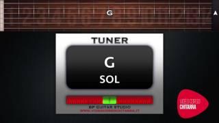 ACCORDATORE CHITARRA ONLINE - GUITAR TUNER ONLINE