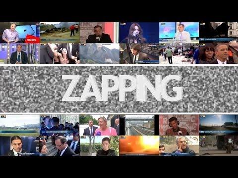 Zapping de l'Actualité - 28/02 - Une policière sauve un bébé en plein vol, Manuel Valls