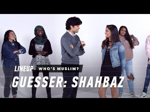 Guess Who's Muslim (Shahbaz) | Lineup | Cut