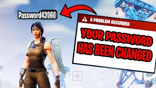I Put My Password In My Fortnite Name... (ends bad)