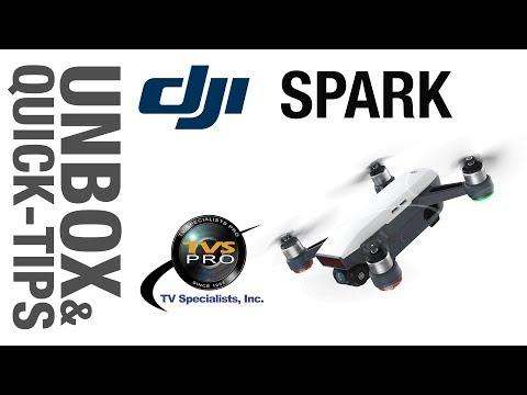 DJI Spark: Unbox & Quick-Tips, vs GoPro Hero5