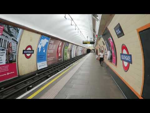 London Underground Piccadilly Line 1973 Stock Trains At Southgate 19 September 2016