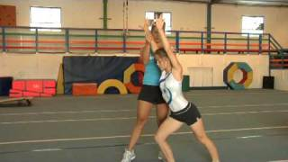Gymnastics  : Steps To Do A Cartwheel