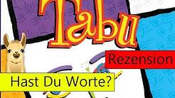 Tabu (Partyspiel) / Anleitung & Rezension / SpieLama