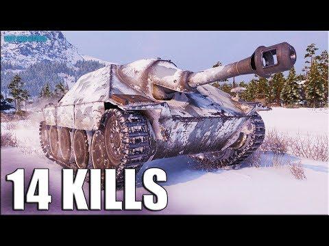 14 ваншотов за 6 минут ✅ Jagdpanzer 38(t) Hetzer World of Tanks